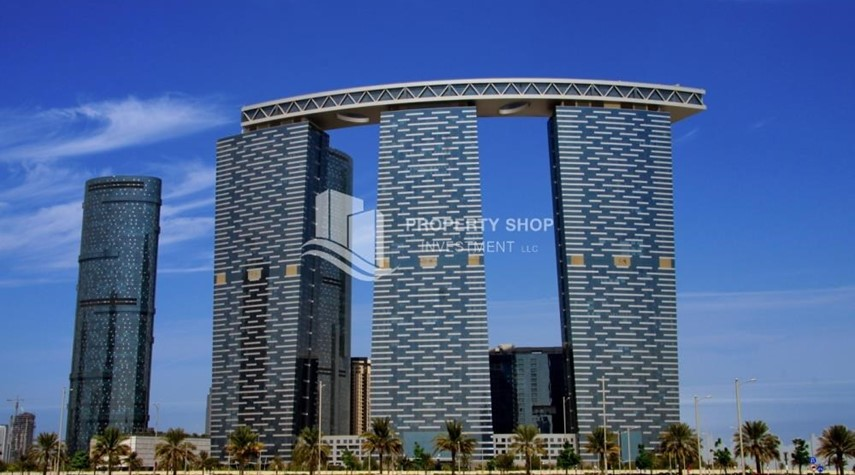 Property-Studio apartment in Gate Tower for rent.