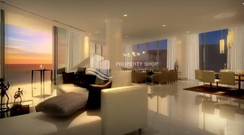 Living Room-Luxury 3bedroom + maid with world class amenities and facilities