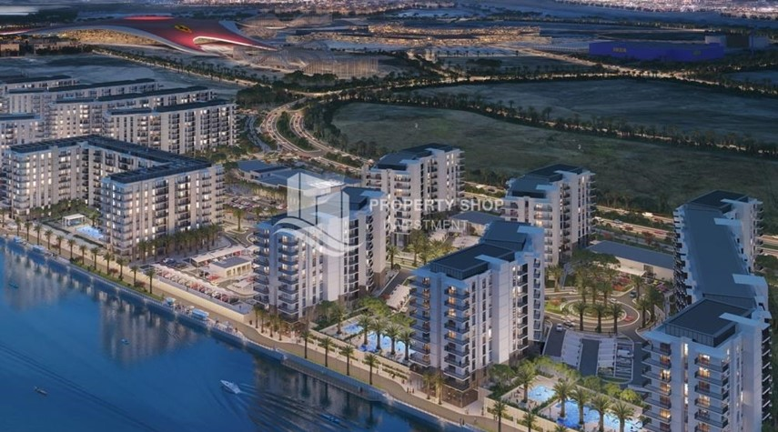 Property-Offplan Apt in Yas Island at just 5% DP
