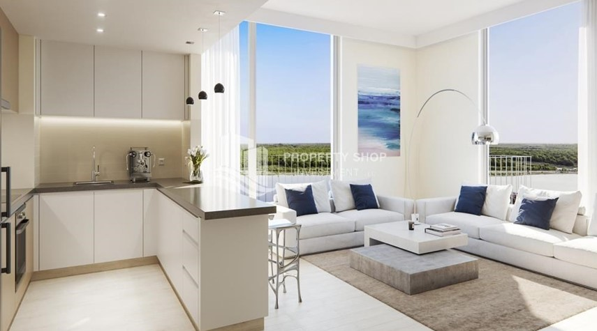 Kitchen-Offplan Apt in Yas Island at just 5% DP