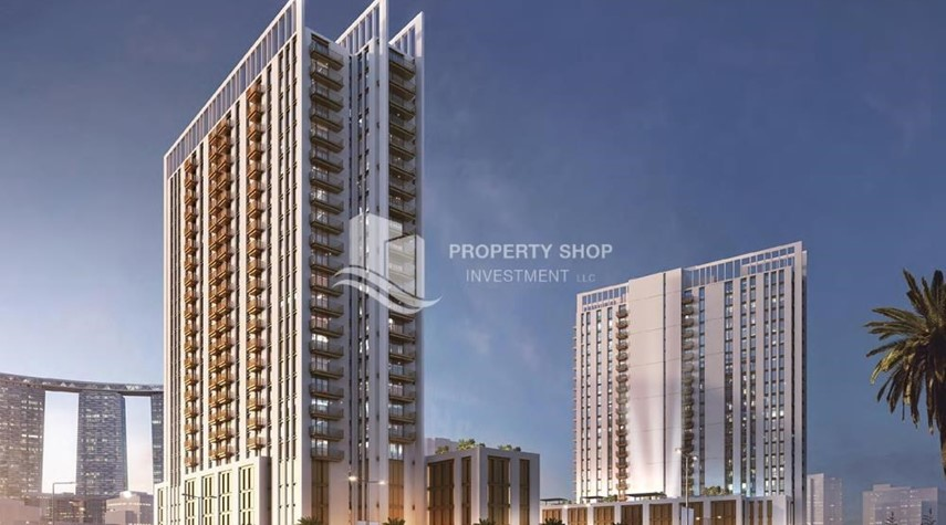 Property-Luxury apartment overlooking the beautiful Reem Island landscape