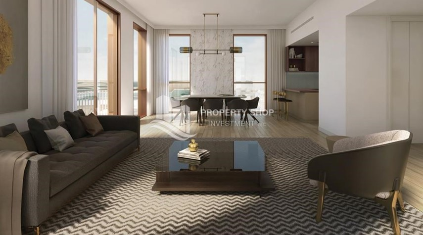 Living Room-Direct from ALDAR! Own an excellent apartment with world-class amenities