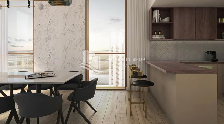 Dining Room-Luxury apartment overlooking the beautiful Reem Island landscape