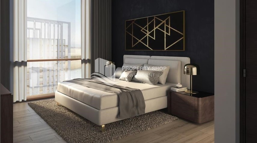 Bedroom-Luxury apartment overlooking the beautiful Reem Island landscape