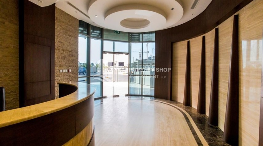 Reception-Studio available for rent, Al Noor Tower, Reem Island!