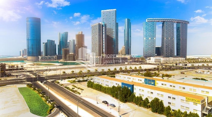 Community-Studio available for rent, Al Noor Tower, Reem Island!