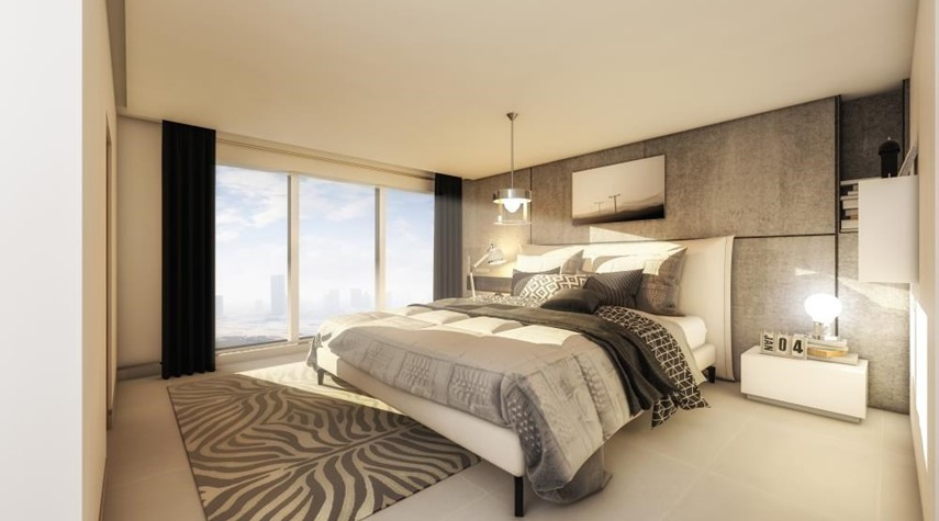 Bedroom-A Touch of Luxury! 2+ Maid With First Class Finishing & Panoramic Views