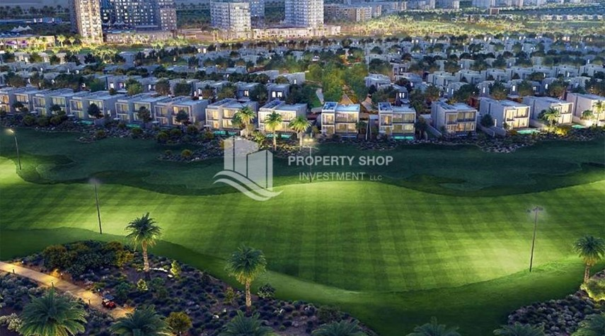 Community-The Most Vibrant Community In Dubai South.1.5% Monthly Installments