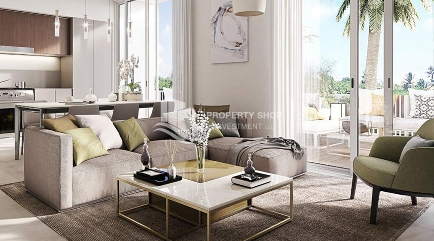 Living Room-The Most Vibrant Community In Dubai South.1.5% Monthly Installments