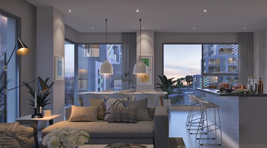 Dining Room-Vibrant destination in reem island. 5% down payment/ handover 2021