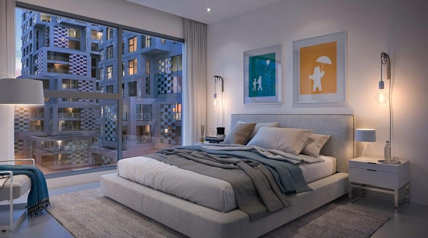 Master Bedroom-Vibrant destination in reem island. 5% down payment/ handover 2021