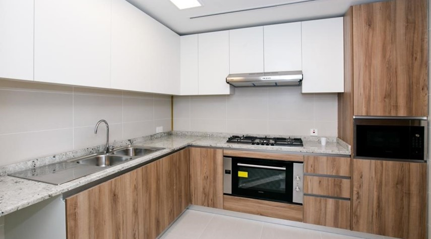 Kitchen-own now 2BR First class finishing, interior fittings, and appliances ensuring your convenience.