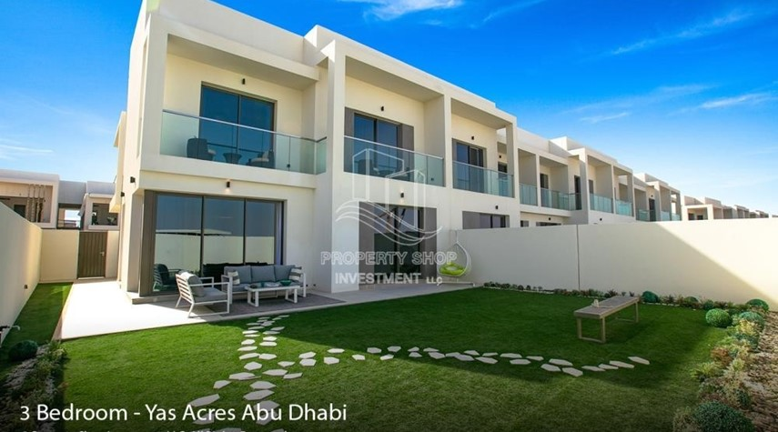 Property-Spacious 3 bedroom townhouse in Yas Acres