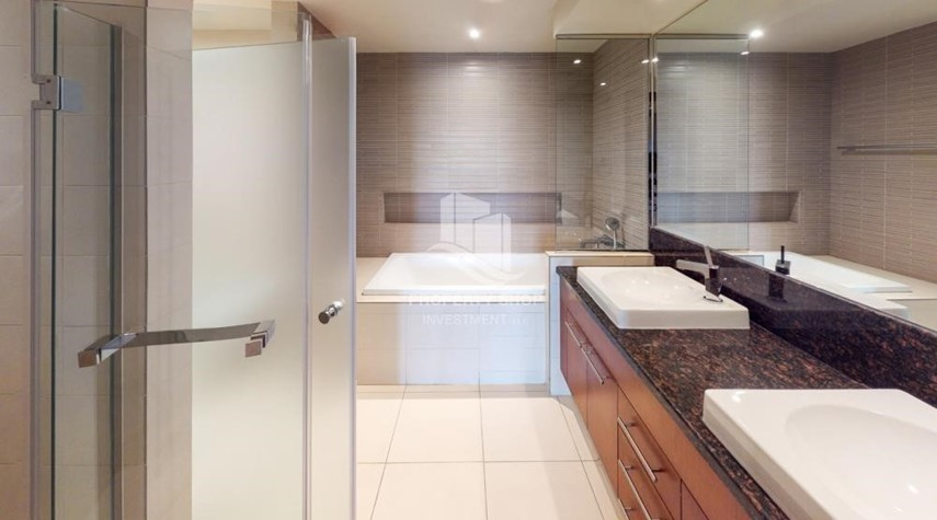 Bathroom-Exclusive 2BR Apt with Amazing Sea View in Saadiyat Beach Residences!