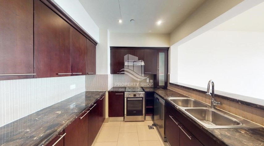 Kitchen-A distress sale, 10% discount for 2BR Apt in Saadiyat Beach Residences!