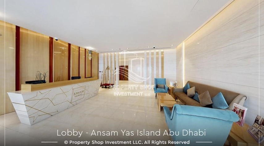Lobby-3 bedroom apartment for sale in Ansam.