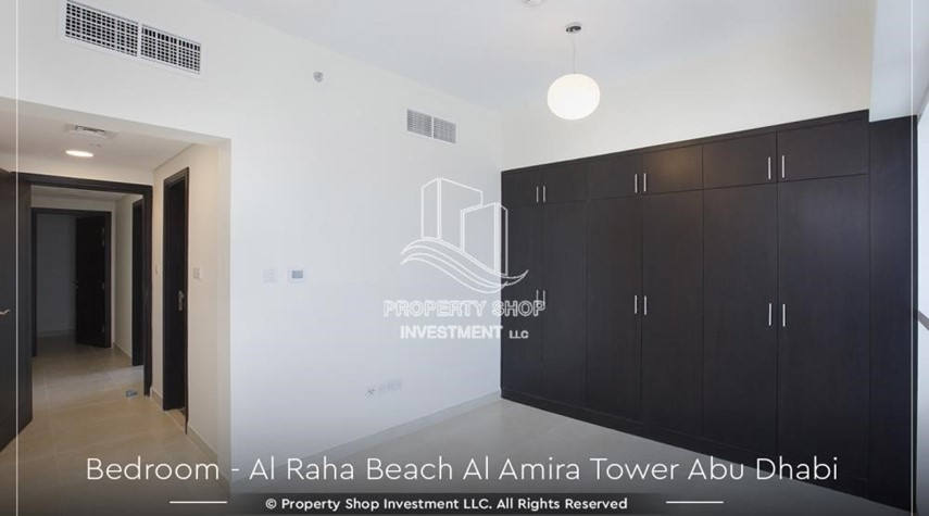 Bedroom-Best price for 3BR  Apartment Al Raha Beach