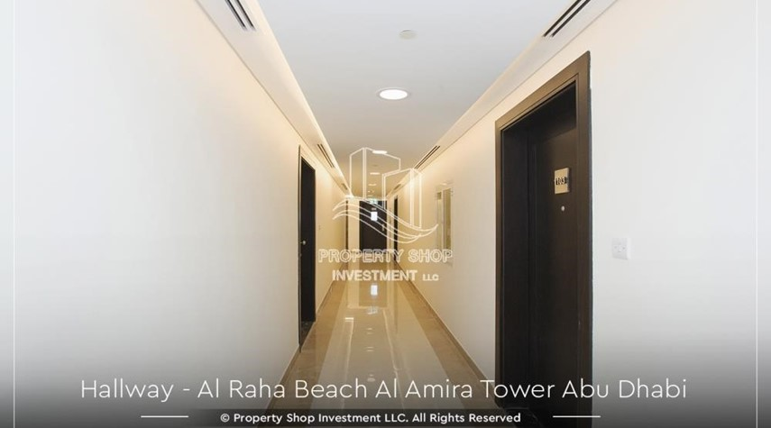 Hall-Best price for 3BR  Apartment Al Raha Beach