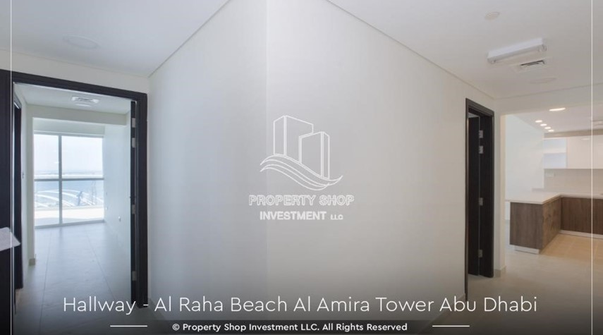 Foyer-Best price for 3BR  Apartment Al Raha Beach