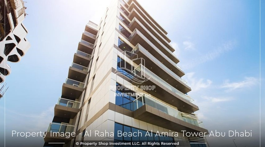 Property-Brand New 2BR + Maid's room apartment in Al Raha Beach