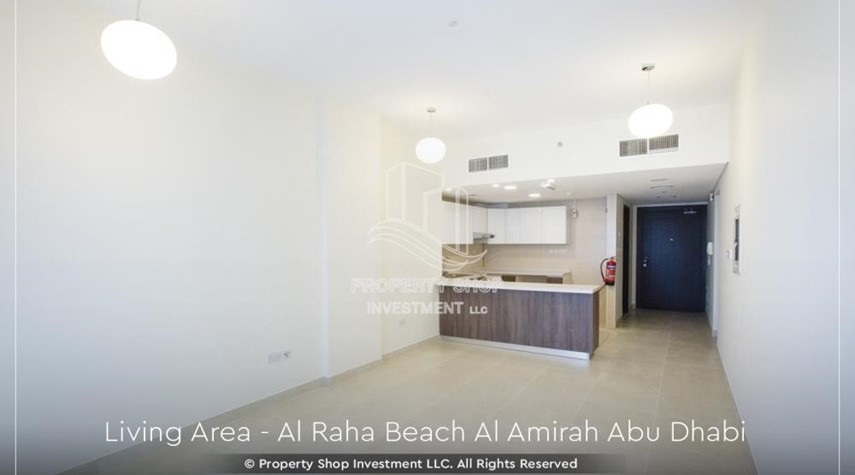 Dining Room-Brand New 2BR + Maid's room apartment in Al Raha Beach