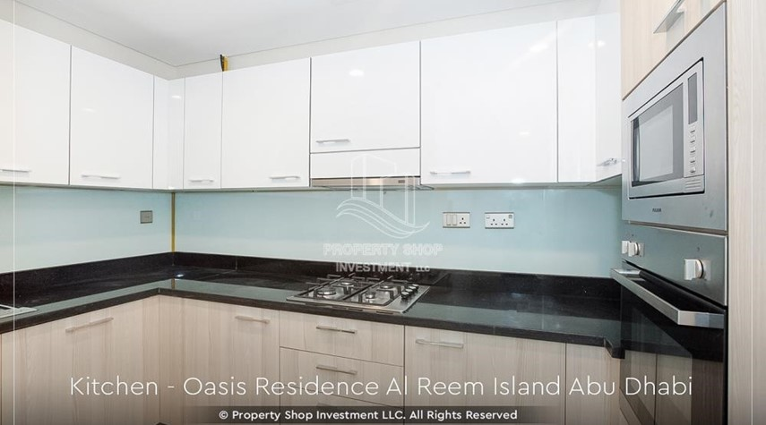 Kitchen-Brand New 1 Bedroom with Stunning Views in Oasis Residence.