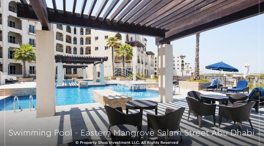 Facilities-Elegant, Stunning 1BR Apartment with Mangrove View, Pool, Gym