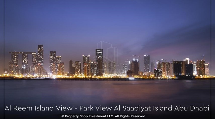 Community-Available for viewing and with High Returns! Own a brand new Apartment in Park View Saadiyat.