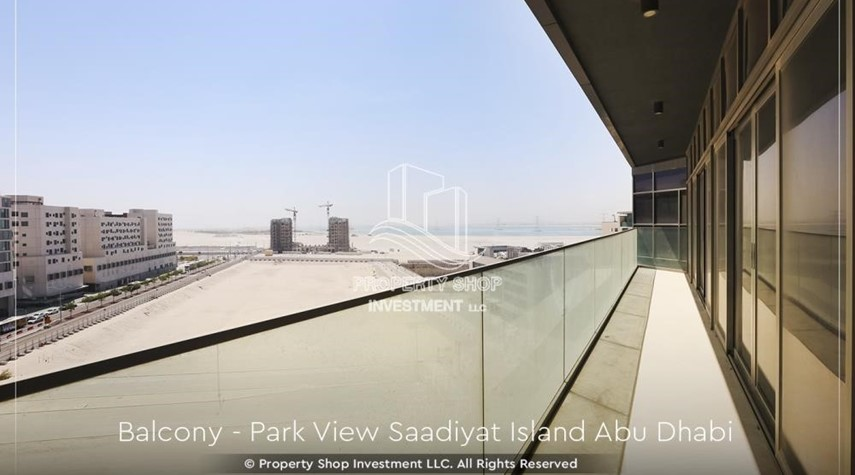 Balcony-Available for viewing and with High Returns! Own a brand new Apartment in Park View Saadiyat.
