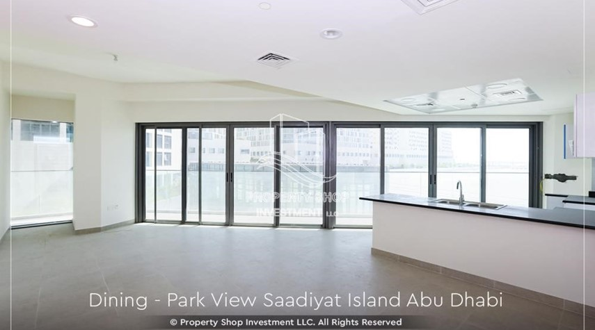 Dining Room-Available for viewing and with High Returns! Own a brand new Apartment in Park View Saadiyat.