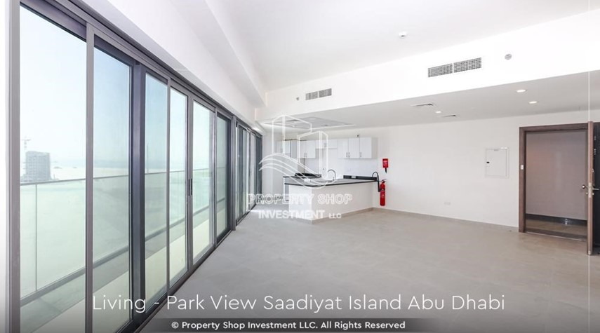 Living Room-Available for viewing and with High Returns! Own a brand new Apartment in Park View Saadiyat.