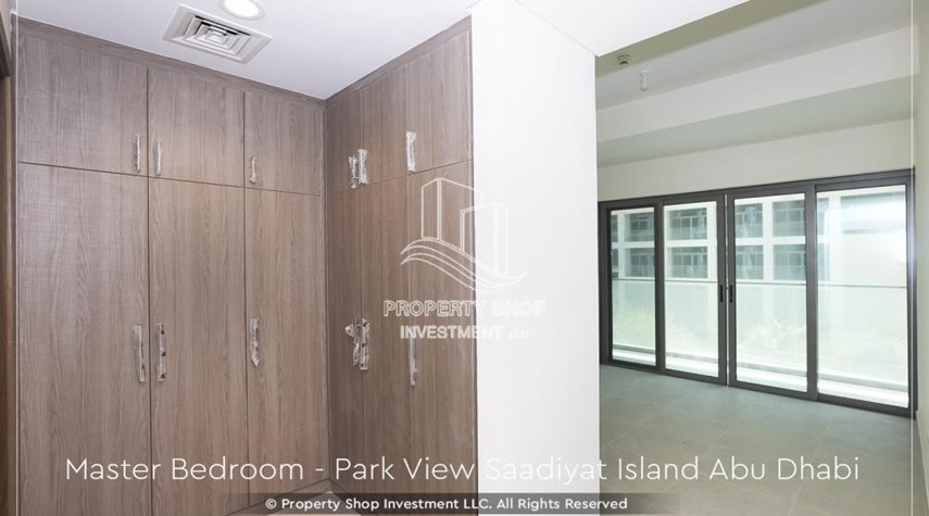 Built in Wardrobe-Available for viewing and with High Returns! Own a brand new Apartment in Park View Saadiyat.