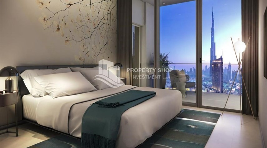 Bedroom-A Future Home with your family in Dubai Downtown Views II.