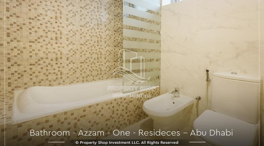 Bathroom-Well Maintained, 4BR+M Apartment with Gym, Pool, Sauna, Steam Room