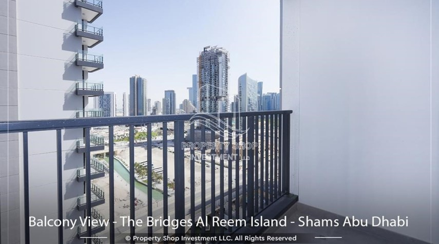 Balcony-Selling below OP! Own a 1BR unit in a brand new tower.