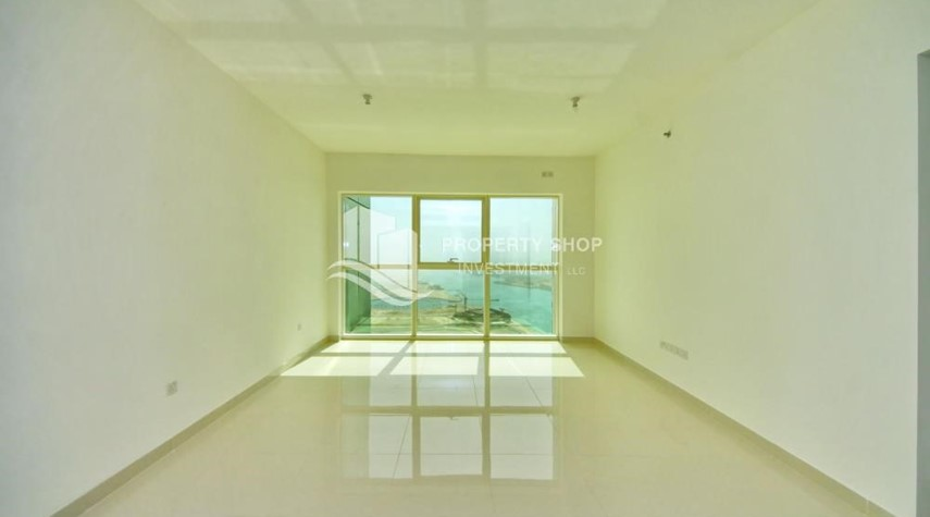 Living Room-Spacious vacant apartment in Marina Square for sale!