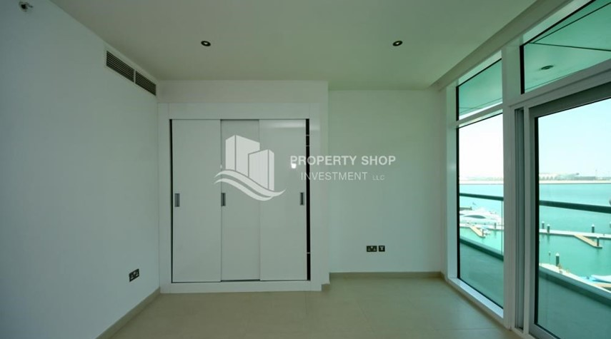 Built in Wardrobe-Own 2BR unit with fantastic sea view