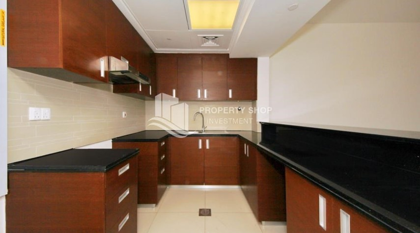 Kitchen-High floor Unit with City view.