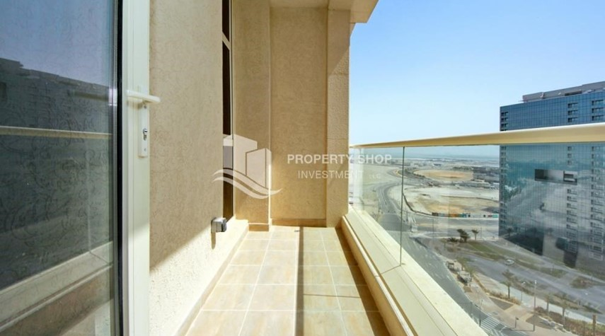 Balcony-2br, Living in Luxurious Mangrove Place, Al Reem Island