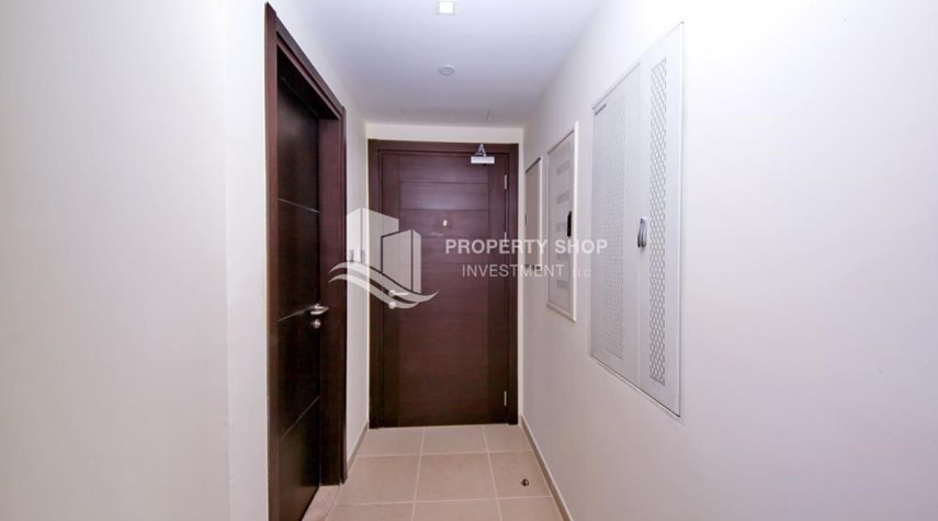 Corridor-2br, Living in Luxurious Mangrove Place, Al Reem Island