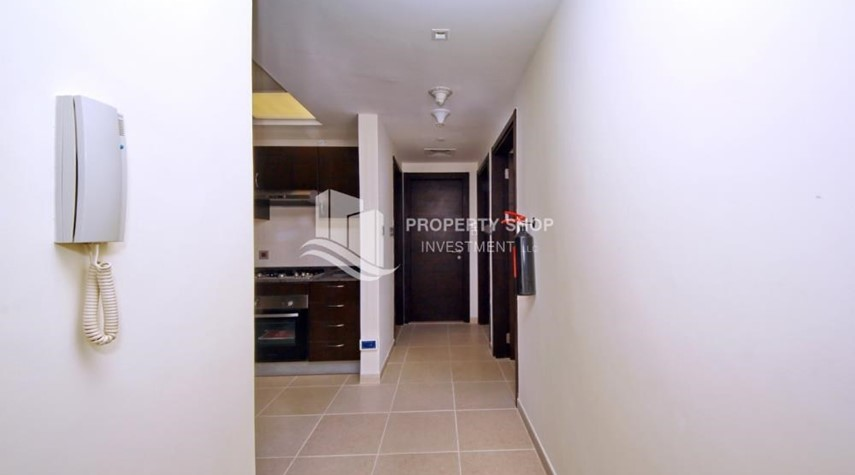 Foyer-2br, Living in Luxurious Mangrove Place, Al Reem Island