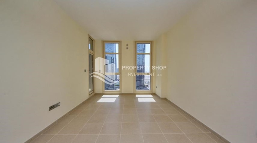 Living Room-2br, Living in Luxurious Mangrove Place, Al Reem Island