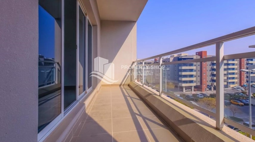 Balcony-2 Bedroom Apartment in Al Reef Downtown For RENT by the first week of October!