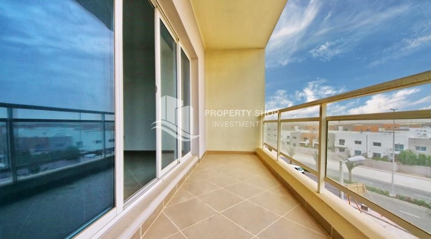 Balcony-2 Bedroom Apartment in Al Reef Downtown FOR RENT!