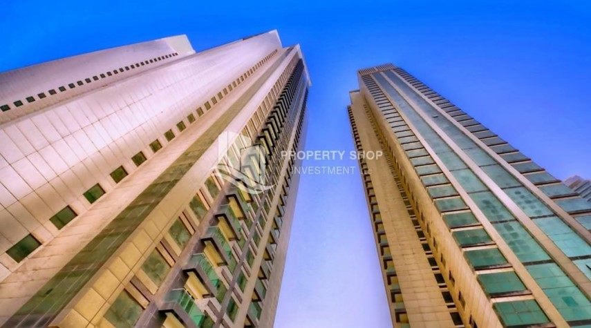 Property-High floor Apt in Al Maha Tower.