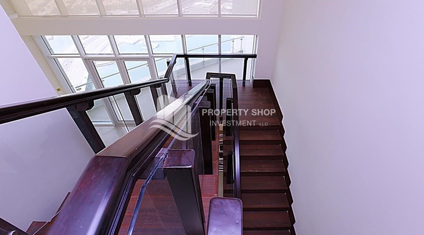 Stairs-Full Sea View Penthouse with Study Room