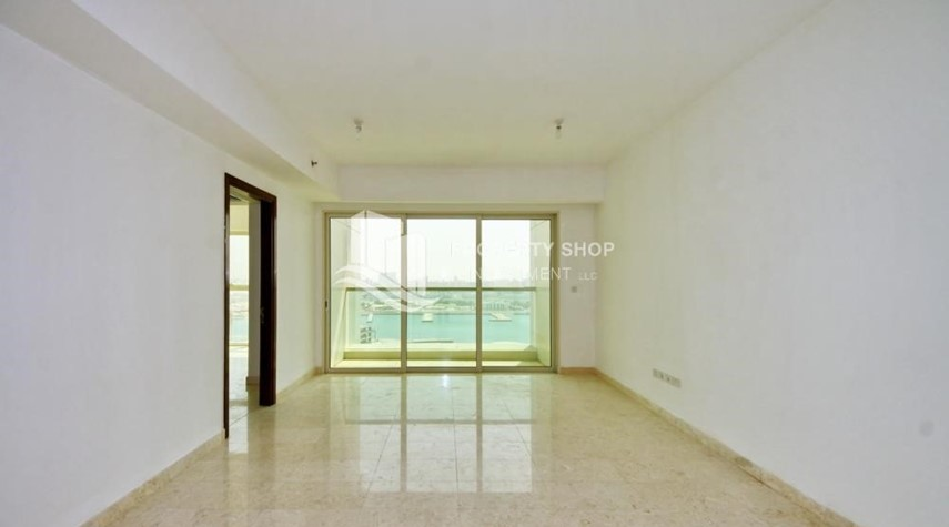 Living Room-Low floor 1BR Apt with Sea view.