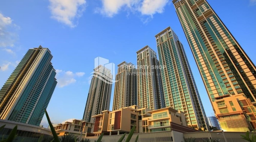 Property-High floor 2BR unit with balcony plus partial sea view.