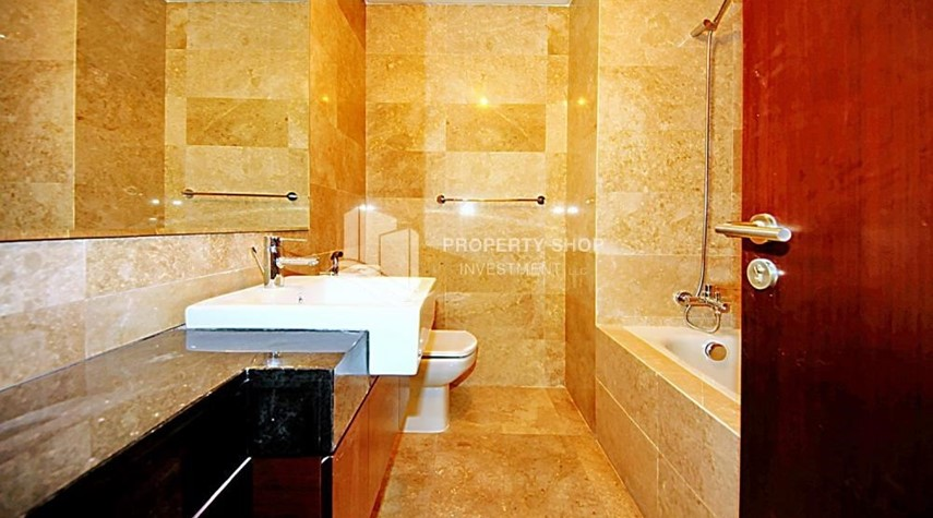 Bathroom-Have a blast living in a comfortable 2BR Apartment with Balcony!