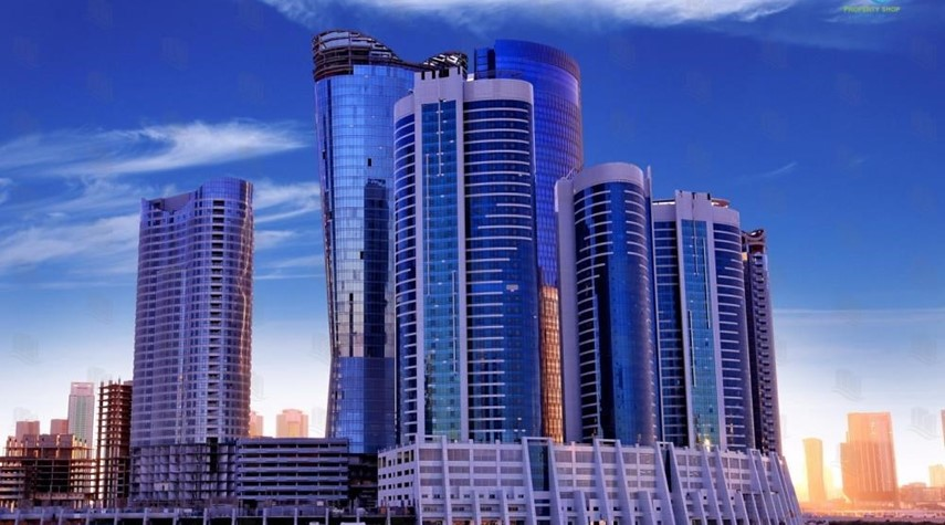 Community-1BR apartment high floor  with sea view for sale in ALREEM ISLAND!!!